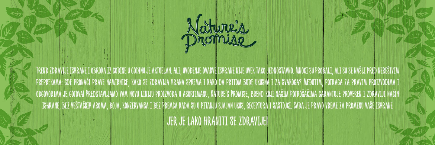 Nature`s Promise